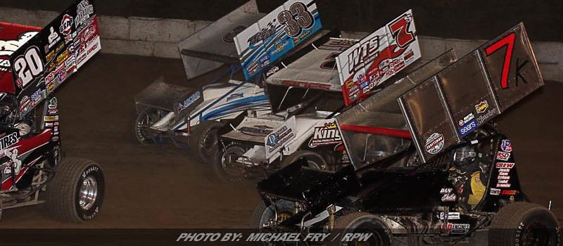 "Action Heats Up At Fulton With World of Outlaws Sprints & Modified ""Win & You're In"""