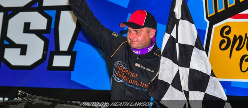 Mike Marlar Wins Night #2 Of Knoxville's Late Model Nationals