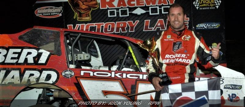 Steve Bernard Takes 358-Modified Super DIRTcar Series Event At Mohawk