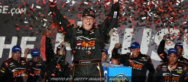 Johnny Sauter Gets Momentum-Building NASCAR Truck Series Win At Chicagoland