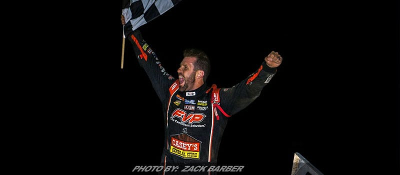 Brian Brown Leads All Laps at Selinsgrove For Jim Nace Memorial / National Open Title