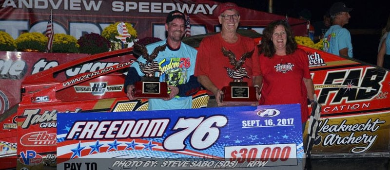 Jeff Strunk Captures Grandview Speedway's 'Freedom 76' For 2017