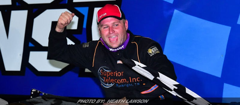 Marlar Makes History With Back-To-Back Knoxville Late Model Nationals Titles