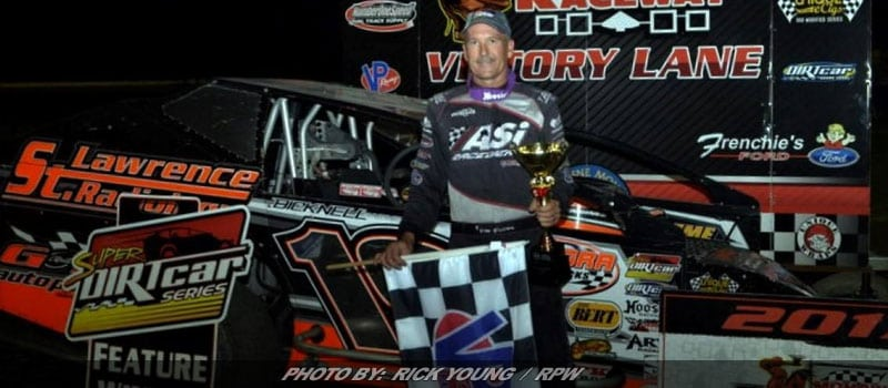 Tim Fuller Defends Home Turf In Super DIRTcar Series Win At Mohawk