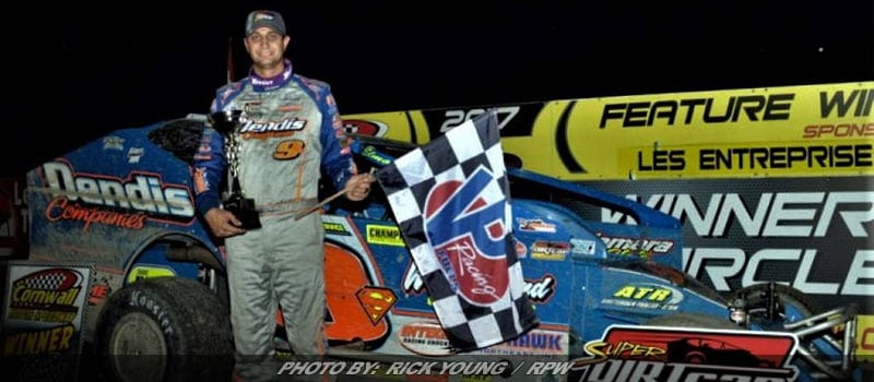 Sheppard Wins Another Super DIRTcar Series Event; This Time At Cornwall