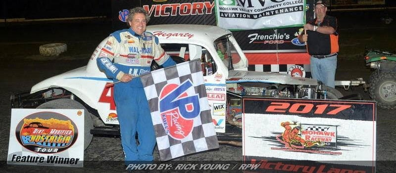 Billings & Hegarty Capture Wins, Stanley & Hegarty Dirt Modified Nostalgia Tour Champions