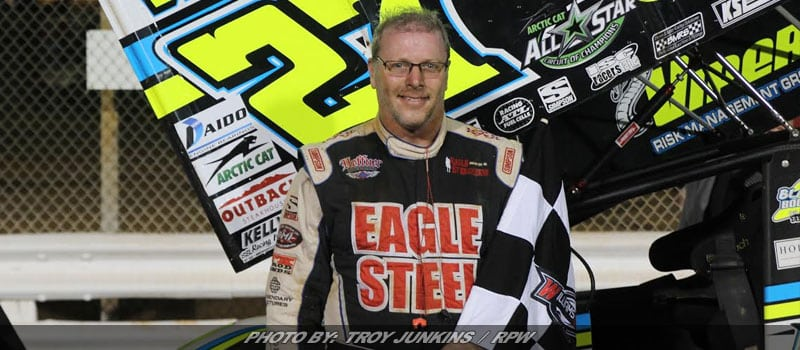 Hodnett Wins National Open Tune-Up Friday At Williams Grove