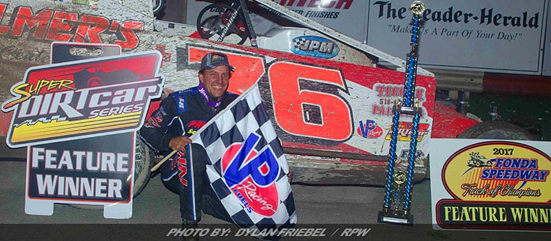 The Varin Family Get It Done Saturday At Fonda Speedway
