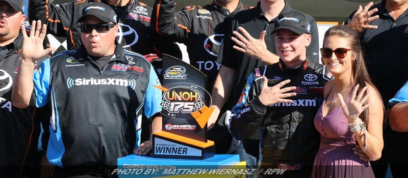Christopher Bell Opens NASCAR Truck Playoffs With Win; Stewart Friesen Fifth