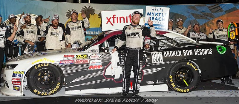 Tyler Reddick Earns First Career Win In XFINITY Playoff Opener At Kentucky
