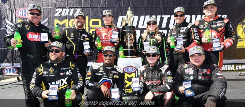 NHRA Countdown To The Championship Schedule Change Announced For 2018