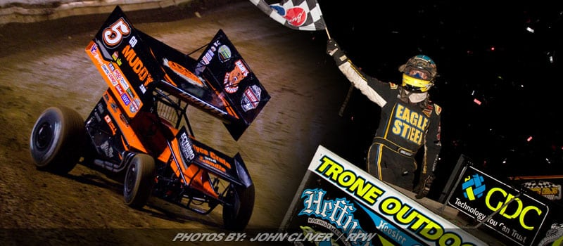 Gravel & Hodnett Come Up Big Thursday To Start National Open Weekend At Williams Grove