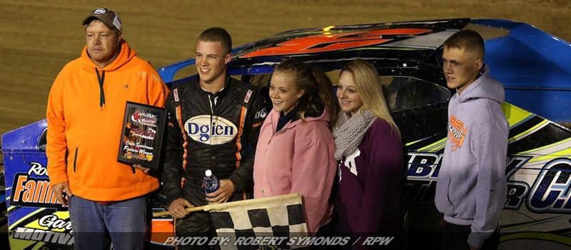 Jake Dgien Tops List Of Winners On Night One Of Bullring Challenge At Woodhull