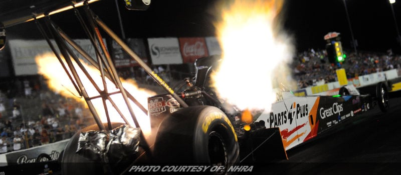 Millican, Hight, Anderson, Hines Friday Leaders In NHRA Midwest Nationals Qualifying