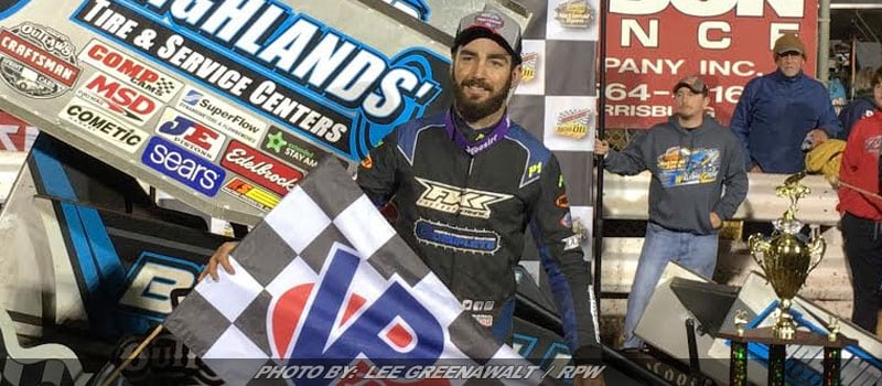 James McFadden Scores First Career WoO Sprint Win On Night Two Of Williams Grove National Open