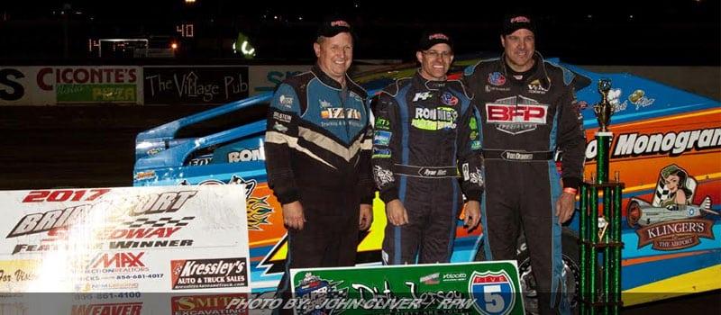 Ryan Watt Takes Dirty Jersey 5 At Bridgeport Speedway