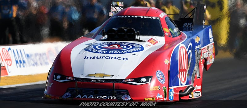 Qualifying Complete For NHRA Midwest Nationals; Eliminations Sunday