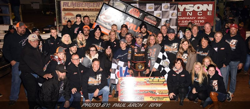 David Gravel, CJB Pocket $50,000 At Williams Grove's National Open