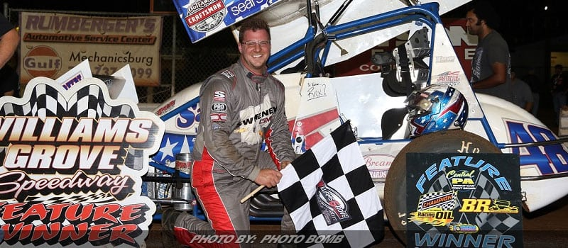 Danny Dietrich Back In Williams Grove Victory Lane