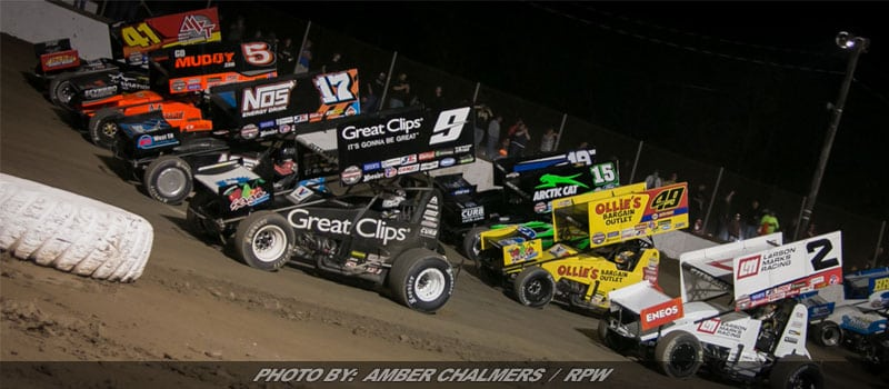 The World Of Outlaws Return To Ransomville Monday Night
