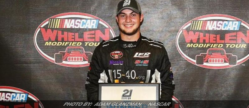 Chase Dowling Tops Thompson Field For Whelen Modified Tour Pole