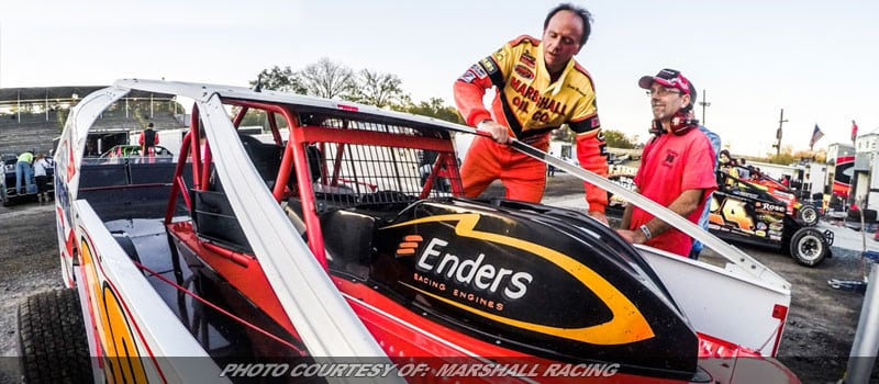 Eddie Marshall Eager For Eastern States 200