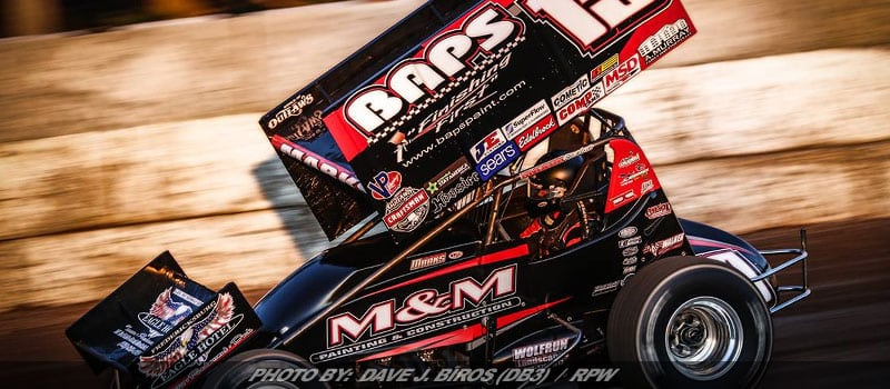 Brent Marks Finishes Eighth In World Of Outlaws Sprint Event At Ransomville
