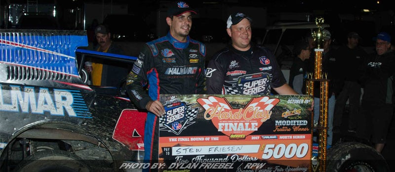 Friesen Wins Hard Clay Finale At Orange County; Bachetti Takes Short Track Super Series North Title