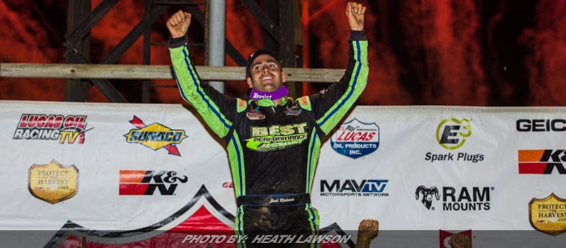 Richards Wins Dirt Track World Championship; Clinches First Lucas Oil LM Dirt Series Title