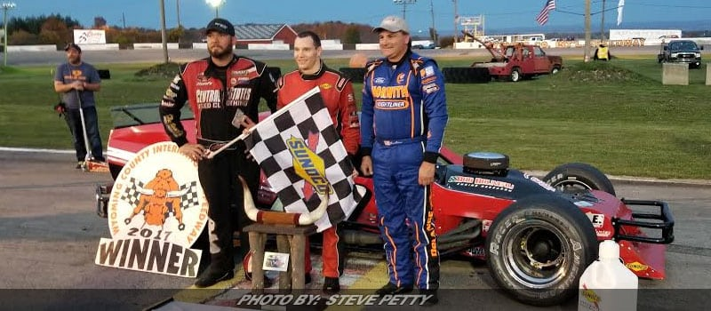 """Big Money"" Hirschman Strikes For Second $10,000 Payday At Wyoming Co. Int'l Speedway"