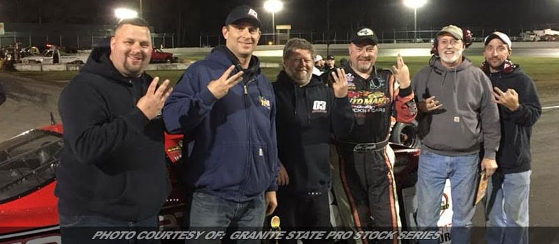 Squeglia Captures Third Granite State Pro Stock Win Of '17; O'Sullivan Champion