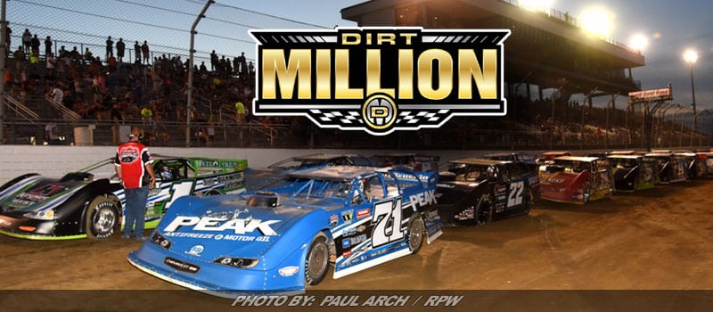 "The ""Dirt Million"" Slated For 2018 At Mansfield Motor Speedway"