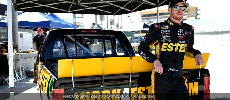 Jeb Burton Amped For Martinsville NASCAR Truck Series Return
