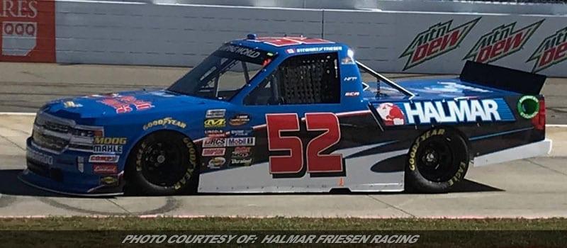 Stewart Friesen Paces Final Martinsville NASCAR Truck Series Practice