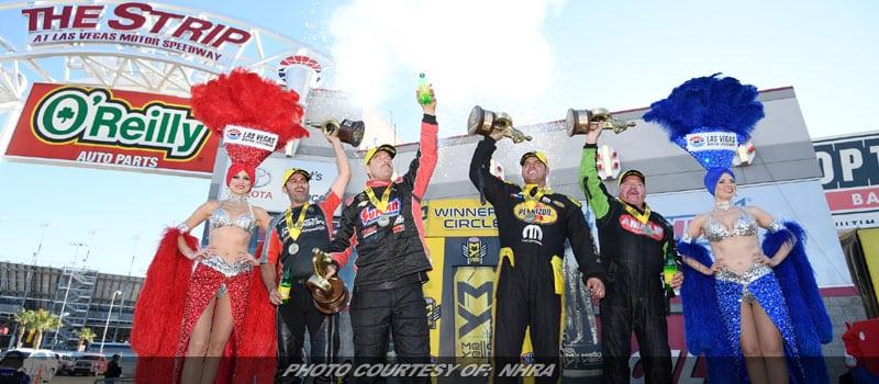 McMillen, Hagen, Anderson & Krawiec Victorious In NHRA Stop At Vegas
