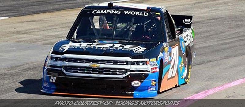 Mechanical Failure Thwarts Jeb Burton's NASCAR Truck Series Return