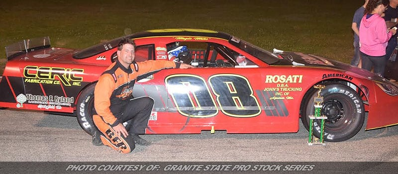 Mike O'Sullivan Is Now A Two-Time Granite State Pro Stock Series Champion