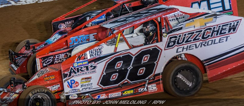 Mike Mahaney Sweeps Big Block Modified World Finals Qualifying Thursday