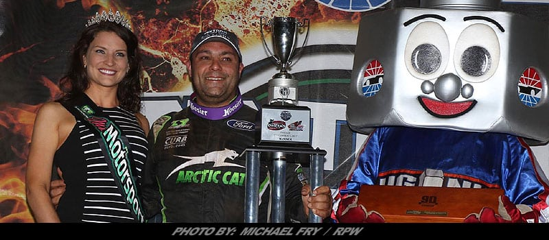 Story & Video: Schatz Reaches 20-Win Plateau For Fifth Straight Year With WoO Sprint Win At World Finals