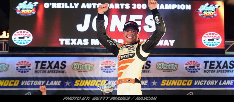 Erik Jones Completes Texas Sweep With NASCAR XFINITY Win