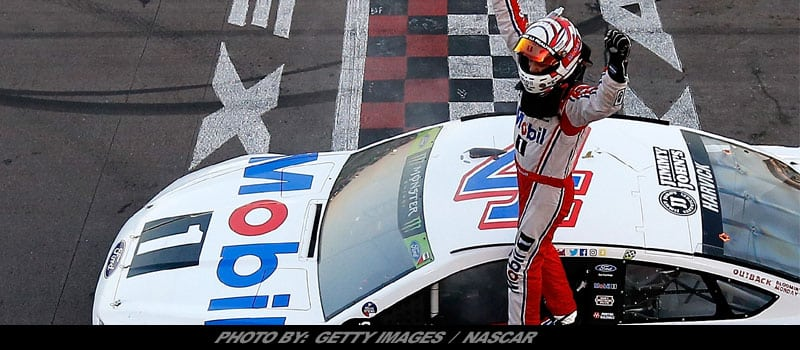 Kevin Harvick Wins NASCAR Cup Race At Texas; Advances To 'Championship 4'