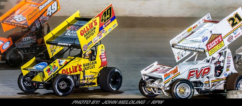 World Of Outlaws Sprint Cars Set To Return To Terre Haute Action Track In '18