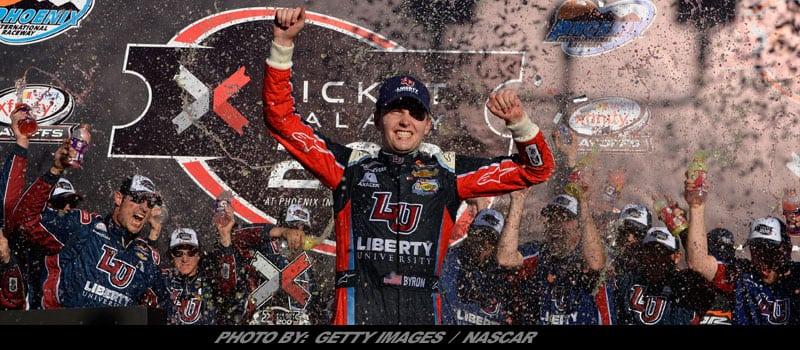 Byron's Phoenix Victory Leads JR Motorsports Parade Into NASCAR XFINITY Title Race