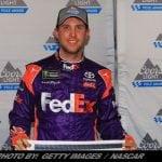 Denny Hamlin Steals Homestead NASCAR Cup Series Pole From Martin Truex Jr.