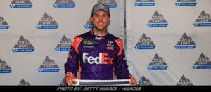 Denny Hamlin Steals Homestead NASCAR Cup Series Pole From Martin Truex Jr.