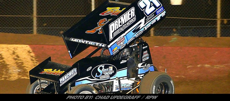 Montieth Claims Sixth Track Championship In Lincoln 410 Sprints