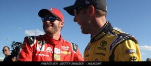 Earnhardt Jr., Kenseth Say Goodbye To NASCAR In Their Own Perfect Way