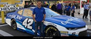 Credit One Bank Becomes Primary Sponsor For Kyle Larson's NASCAR Cup Program