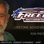Freedom Motorsports Park Honors Sponsor Ron Previty With Lifetime Achievement Award
