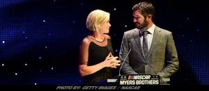 Martin Truex Jr. & Sherry Pollex Win Coveted Myers Brothers Award At NASCAR Luncheon